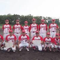 2015-09-27-親善朝野球大会 優勝後の記念撮影