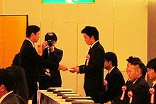 2013-11-03-青山市長より賞状を授与